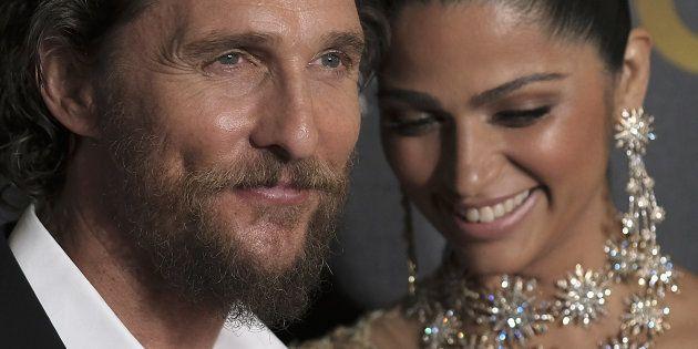 Matthew McConaughey et Camila Alves à New York le 17