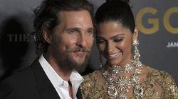 Matthew McConaughey et Camila Alves, couple le plus glamour sur tapis