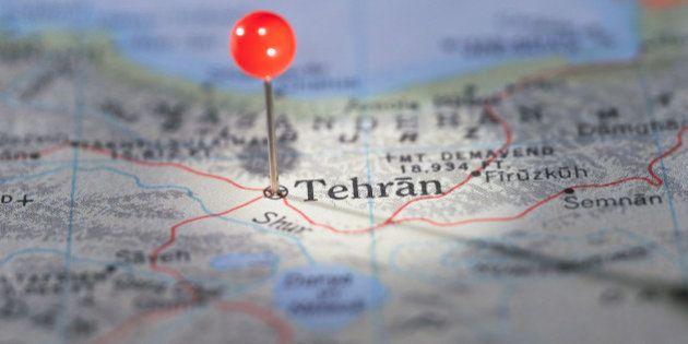 Tehran Marked on
