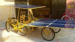 Solar E-Cycles, des voiturettes qui roulent à l'énergie solaire pour les zones rurales