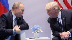 En fait, Trump et Poutine ont eu un 2e entretien (très informel) lors du