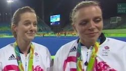Mariées et médaillées d'or olympique