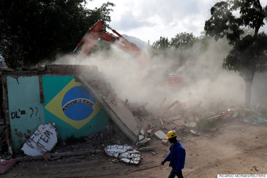 Les Olympiades ont toujours été un désastre pour les démunis, et Rio ne fait pas
