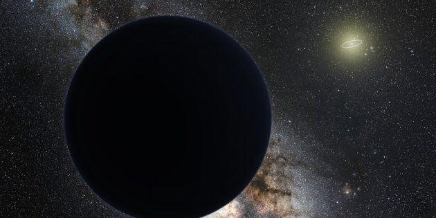 Il pourrait y avoir des planètes de matière noire, selon cette théorie de physique un peu