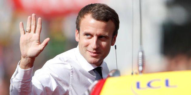 Tour de France 2017, étape 17: la visite d'Emmanuel Macron sur le