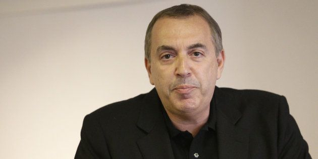 Jean-Marc Morandini lors de sa conférence de presse le 19 juillet 2016 à