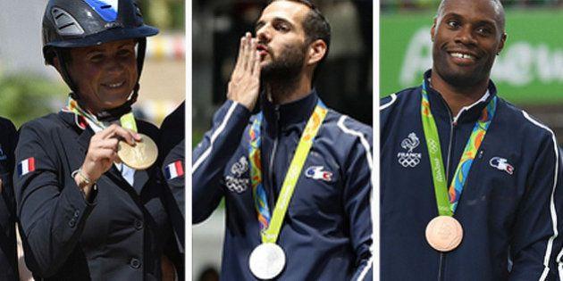 Cérémonie de clôture des Jeux olympiques de Rio: qui sont les 42 médaillés
