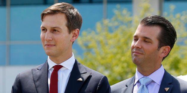 Le fils et le gendre de Trump vont devoir s'expliquer devant le Sénat sur le dossier