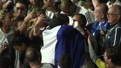 L'émouvant moment entre Tony Yoka et son père après la médaille