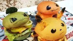 Pokémon + burger =