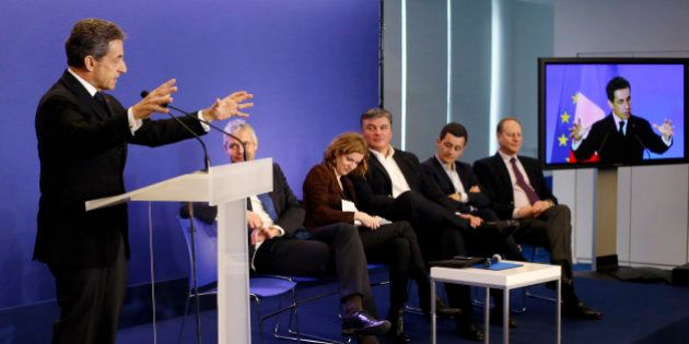 Nicolas Sarkozy futur candidat à la primaire: le message subliminal des