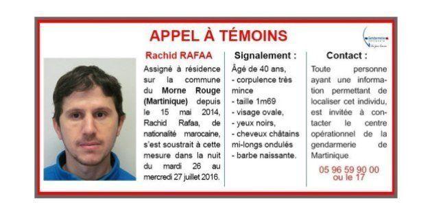 Rachid Rafaa, le fuyard en Martinique, soupçonné d'être lié à Aqmi, a été