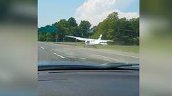 Ce pilote d'avion a géré à la perfection son atterrissage sur une