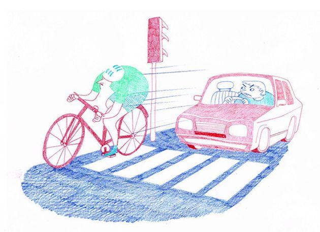 Pourquoi les cyclistes grillent les feux