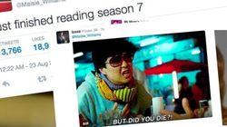 Maisie Williams commente sa lecture du script de la saison