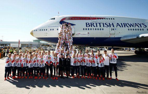 Les athlètes britanniques olympiques ont dû s'amuser pour retrouver leurs