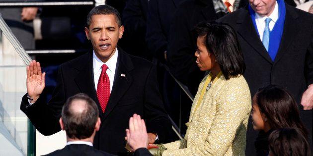 Parmi les pires couacs des cérémonies d'investiture américaines: l'erreur de Barack Obama lors de sa...