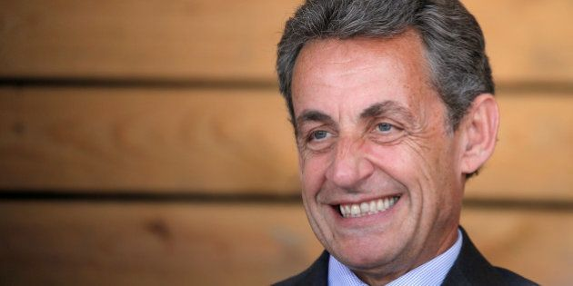 File photo of Nicolas Sarkozy, head of France's Les Republicains political party and former French president,...