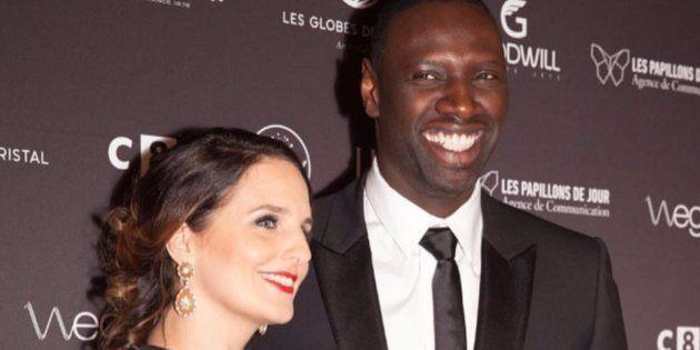 Hélène Sy, la femme d'Omar Sy, pousse un coup de gueule contre le racisme sur Twitter (Photo: Le couple...