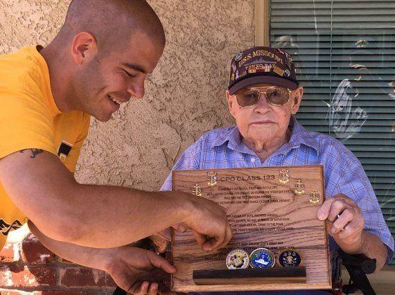 Ce vétéran américain de la Seconde Guerre Mondiale a eu le droit à un très bel