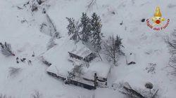 Une avalanche ensevelit un hôtel en Italie, de nombreux