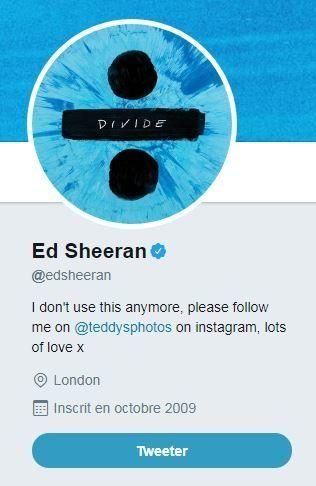 Ed Sheeran dans