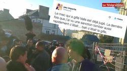 L'homme qui a giflé Manuel Valls est déjà jugé? C'est
