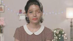 Cette Indienne, défigurée à l'acide, va défiler à la Fashion Week de New