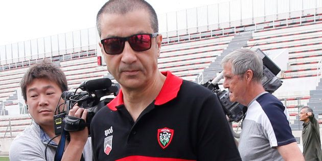 Mourad Boudjellal est connu pour son humour particulier. REUTERS/Jean-Paul