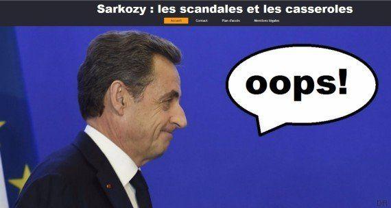 Nicolas Sarkozy ne va pas aimer ce qu'un internaute a fait de