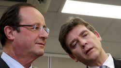 Un sondage controversé donne Hollande battu par Montebourg à la