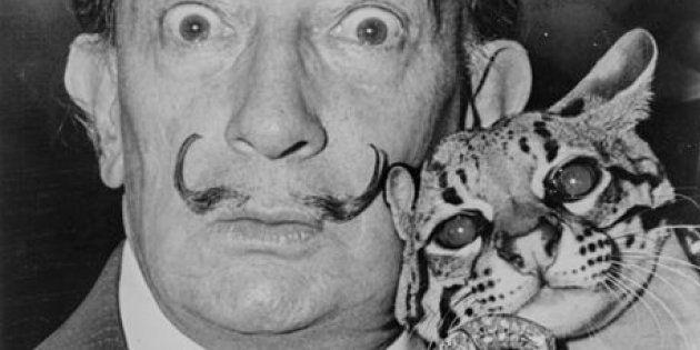 La moustache de Salvador Dali est toujours intacte, 28 ans après sa