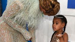 La fille de Beyoncé n'était pas d'humeur à défiler aux