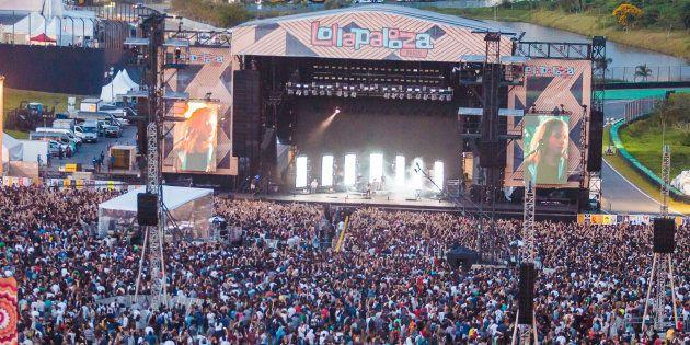 Le festival Lollapalooza au Brésil le 26 mars
