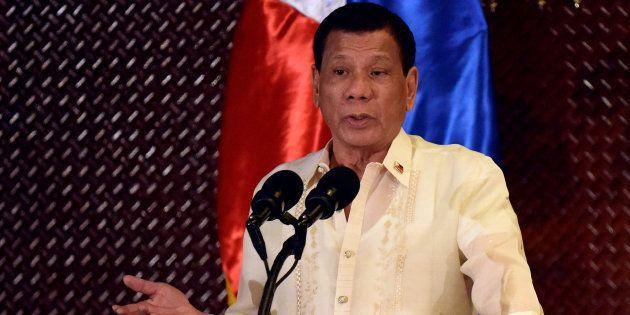 Rodrigo Duterte n'ira pas aux États-Unis parce qu'on