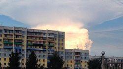 Les habitants de cette ville russe ont cru à une bombe