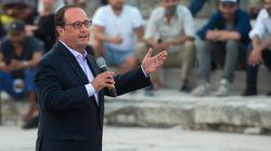Gouvernement, Mélenchon... Hollande glisse quelques piques dans son 1er discours