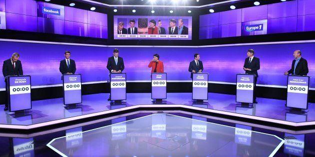 L'audience du dernier débat de la primaire du PS moins bonne que celle du 1er (et loin de la primaire...