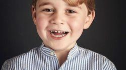 Un nouveau portrait officiel du prince George dévoilé pour ses 4