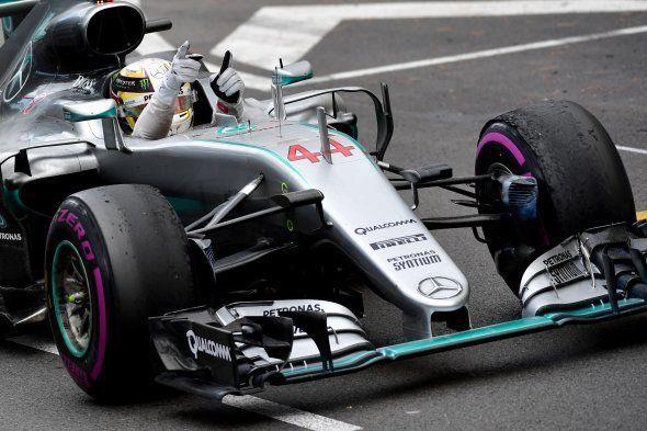 Lewis Hamilton, vainqueur du Grand Prix de Formule 1 de