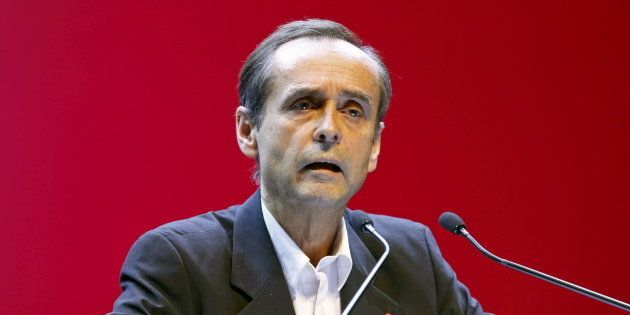 Robert Menard, avec le Front national en 2015 en Paca lors des élections