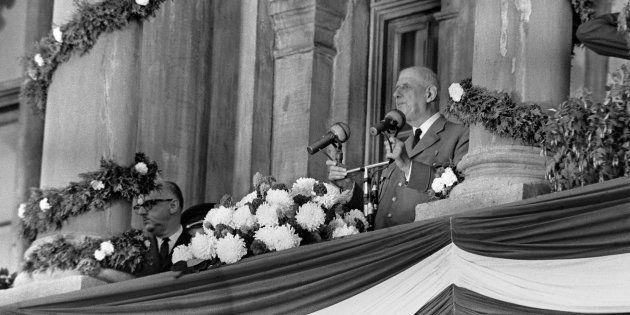 Le général Charles de Gaulle à Montréal le 24 juillet