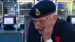 Un vétéran de la bataille de Dunkerque bouleversé après avoir vu le