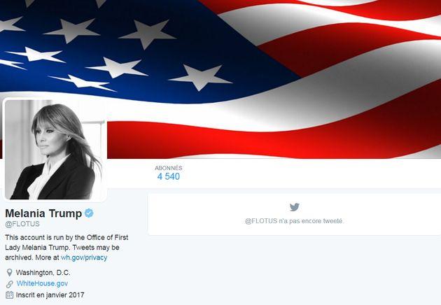 Cérémonie d'investiture de Donald Trump: le compte Twitter du président des États-Unis ne ressemble plus...