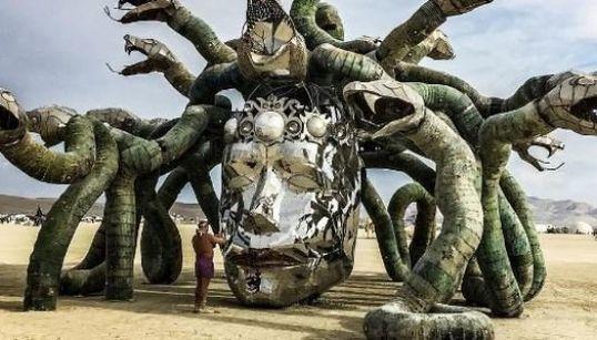 Les installations les plus spectaculaires du Burning
