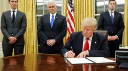 Trump a déjà remplacé la déco du Bureau ovale (avec du