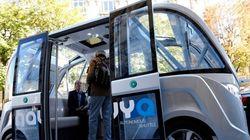 Des bus sans chauffeur en expérimentation à
