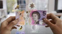 Le nouveau billet de 5 dollars australiens vient tout droit du