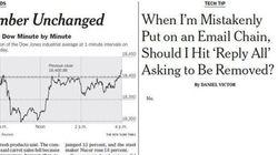 Pourquoi le New York Times a publié un article avec un seul