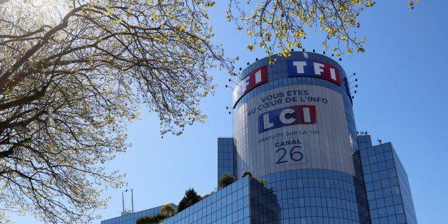 TF1 ne va pas couper son JT avec de la pub (pour le moment) (Photo: Le siège de TF1 à